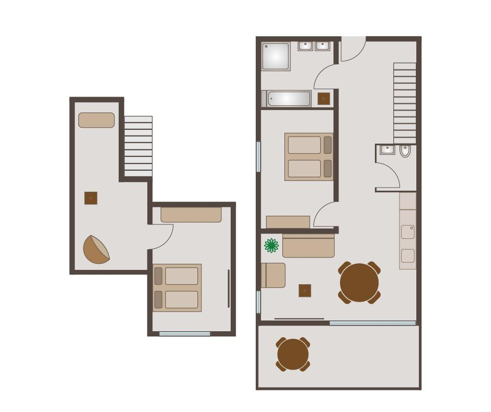 Suite 4 - Floor plan